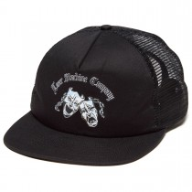 loser machine cap now & later black trucker