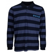 independent pl rugby chain cross navy stripe